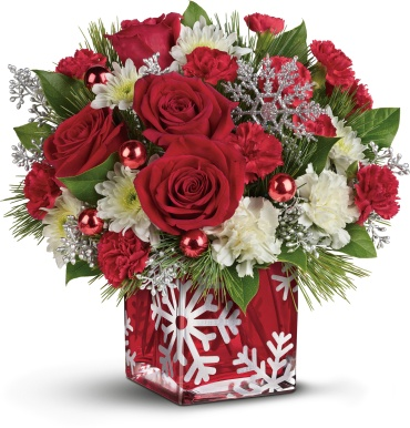 Silver Christmas Bouquet