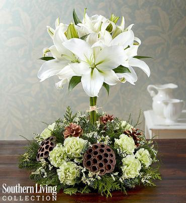 White Lily Topiary by Southern Living®